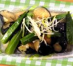☆夏野菜の揚げ浸し☆
