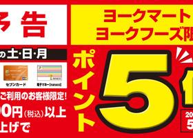 予告! 12/5(土)~7(月)の三日間 ポイント5倍!