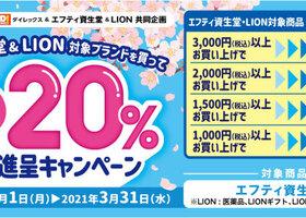 エフティ資生堂&ライオン まとめ買いキャンペーン