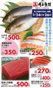 角上魚類 赤羽店のチラシ・特売情報
