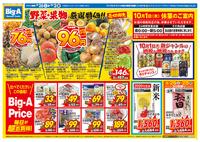 ビッグ・エー 我孫子湖北台店のチラシ・特売情報